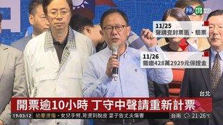 19:30 驗票急轉彎! 丁守中提選舉無效之訴 ( 2018-11-26 )