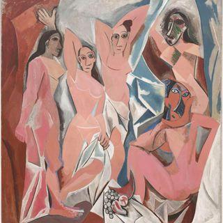 Picasso Les Demoiselles d' Avignon