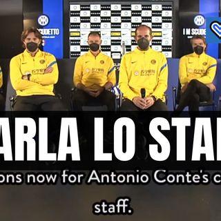 """Inter, parla lo staff di Conte: """"Vi spieghiamo la gestione di Lukaku e di Eriksen"""""""