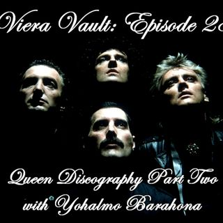 Episode 28 : The Queen Discography Part Two with Yohalmo Barahona.