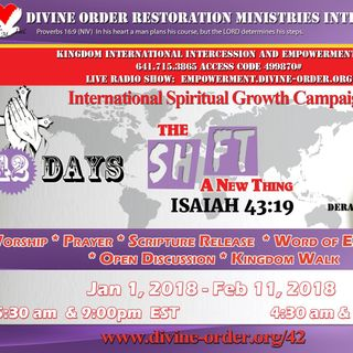 Time is up for Ignoring God!! -Pastor Denise Walker Sunrise Worship Service