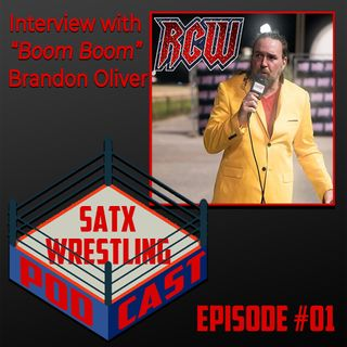 Our first interview- Boom Boom Brandon Oliver