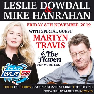 Mike Hanrahan is playing in Dunmore East