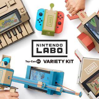 ÉPISODE 42 / annonces Nintendo labo
