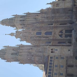 La Ciudad vieja de Santiago de Compostela