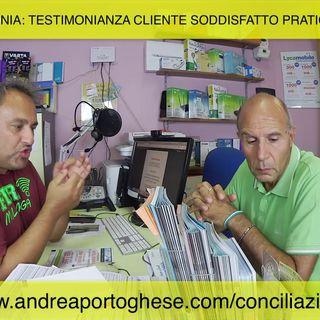#17 Pratica conciliazione problemi telefonia. VINTO