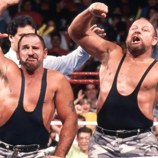 On the Mat: Guest WWE Hall of Famer Luke Williams from The Bushwackers.