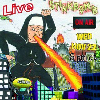 November 22, 2017-Stinkbomb