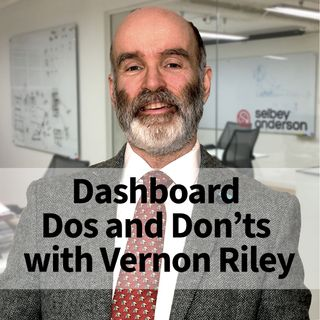 Ep 4: Marketing Dashboard Dos and Don'ts with Vernon Riley