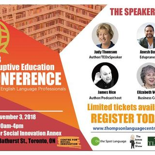 Disruptive Education Conference - Anesh Daya