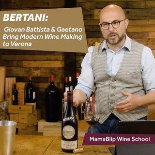 Bertani | Valpolicella Wine history with Filippo Bartolotta