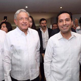 El gobernador de Yucatán, pide apoyo a López Obrador tras el paso de lluvias recientes