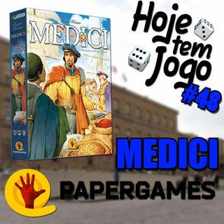 Hoje tem Jogo #48 - Médici