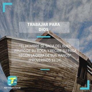 11 de mayo - Trabajar para Dios - Una Nueva Versión de Ti 2.0 - Devocional Jóvenes