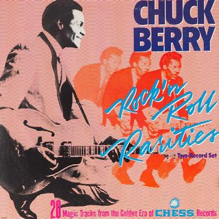 ESPECIAL CHUCK BERRY ROCK N ROLL RARITIES 1986 #Chuckberry #classicrock #westworld #tigerking #shadowsfx #twd #onward #r2d2 #yoda #mulan #it