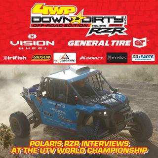 #2 - Off-Road Edition - Interviews at the UTV World Championship