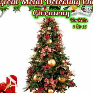 12/13/20 RECAP: The great metal detecting Christmas giveaway for kids 5-15