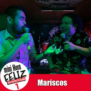 Mini Hora Feliz 1: Mariscos en vivo desde Ensenada