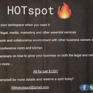 Pensacola Business Radio: The Hot Spot on 59- Coworking Space in Foley, AL.