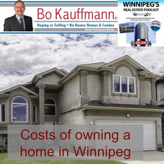 Costs of owning a home in Winnipeg