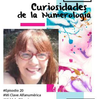 20 MiClaveAlfanumerica #Episodio 20 Curiosidades acerca de la numerologia