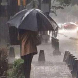 Continúan lluvias fuertes en varias entidades del país
