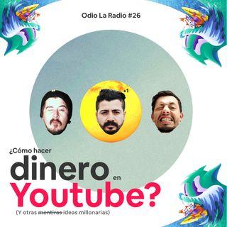 EP#25 - ¿Cómo hacer dinero en Youtube?  Ft.@Santiagoparedesco