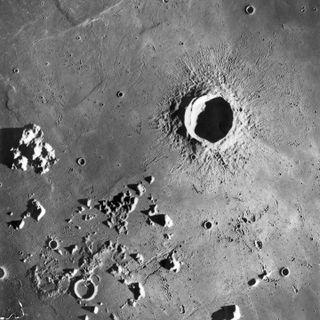 251-Fresh Lunar Craters