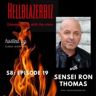 Sensei Ron Thomas talks Karate Kid, Cobra Kai and life