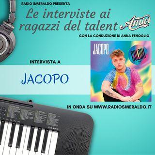 Jacopo   Le Interviste ai ragazzi di Amici