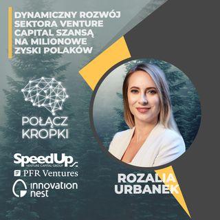 Rozalia Urbanek w #PołączKropki-Venture Capital finansową przyszłością Polski-PFR Ventures