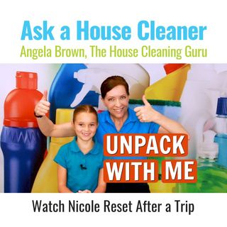 Unpack With Me - Nicole Resets After a Trip
