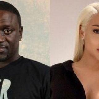 Akon & Tricia Ana Split