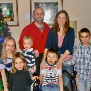 Dad to Dad 79 - John Kimec, Principal at St. John de Sales High School, Father of Five & Son Michael Who Has Pierpont Syndrome