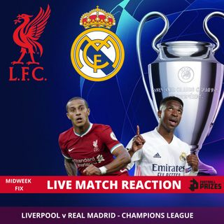 Live Match Reaction | Liverpool v Real Madrid | Uefa Champions League