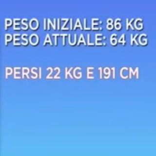 GABRIELLA FELICI 📝 69 ANNI 🔥 PERSI 22 KG E 191 CM! VIVERESNELLA