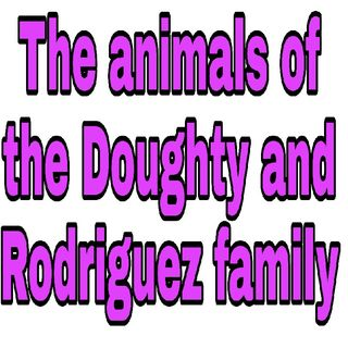 The pets Of The Doughty And Rodriguez Family