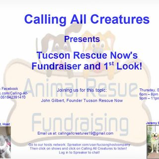 Tucson Rescue Now's Fundraiser and First Look