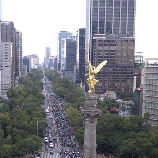 Cortes a la circulación en Reforma por carrera atlética