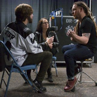 Rockcast 119 - Backstage at home with Barry Kerch