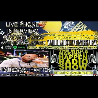 S J Hampton MIH Wed Live Phone Interview