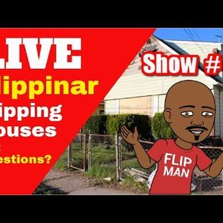 Flipping Houses | Live Show #50 Flippinar: House Flipping With No Cash or Credit 04-12-18