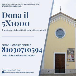 Spot 5X1000 Parrocchia Immacolata Scauri