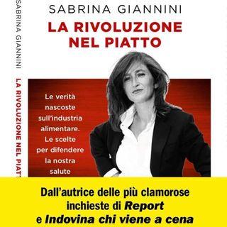 Sabrina Giannini. LA RIVOLUZIONE NEL PIATTO. Presentazione del suo libro.