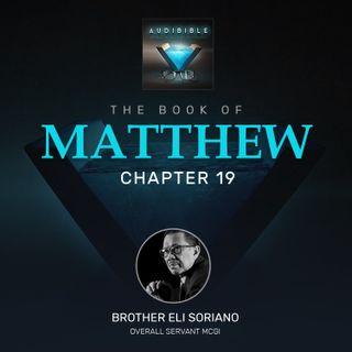 Matthew Chapter 19