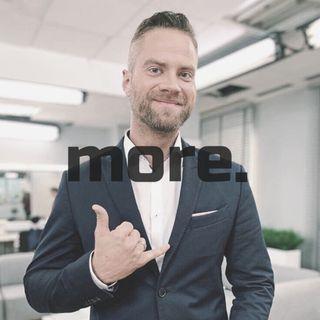 """more. than training ep. 23 - Jakub Mauricz """"Jest wiele stanów, które przy pomocy dietoterapii można wyleczyć."""""""