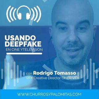 Palomazos S1E148 - Usando Deepfake en cine y televisión (con Rodrigo Tomasso)
