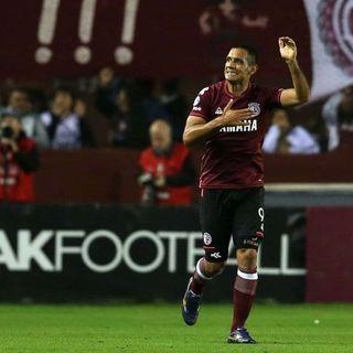 Pepe Gol, empató el partido para Lanús
