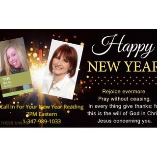 Happy New Year Readings & Reiki With DC Love and Brenda Pearce - Call In Show