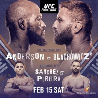 UFC 167 ON ESPN Headlined By Corey Anderson Vs Jan Blachowicz